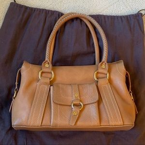 Celine Neutral/Orange handbag, with dust bag
